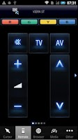 Screenshot of Panasonic TV Remote