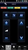 Screenshot of Panasonic TV Remote