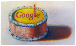 Google 12th Birthday Doodle