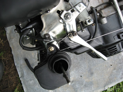 Трос газа для мотоблока или мотокультиватора | Тросик газа.