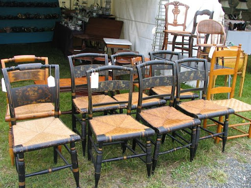 Antique Chair Seatweaving