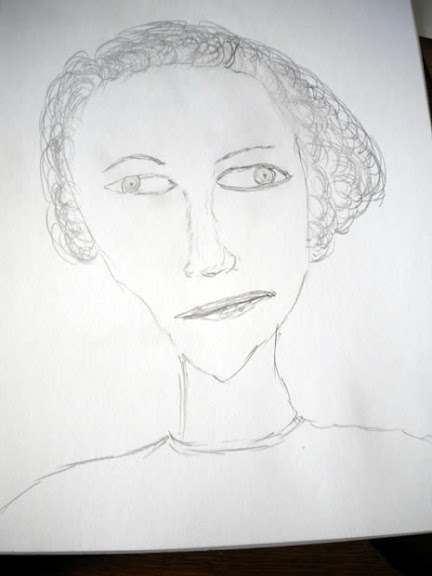 Another version of Coco Chanel Sketch