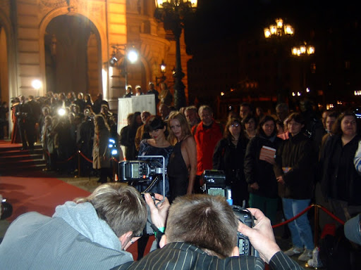 Hessen Movie stars posing for a photo