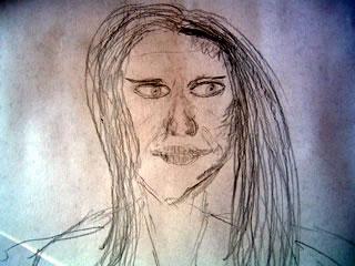 Sketch of Fiona Apple