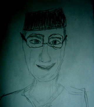 Sketch of Michael Debakey