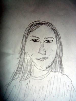 Sketch of Lorraine Twohill
