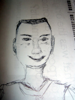Sketch of Matt Kaeberlein