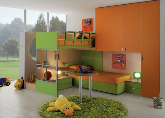 contemporary kids bedroom design interior ideas