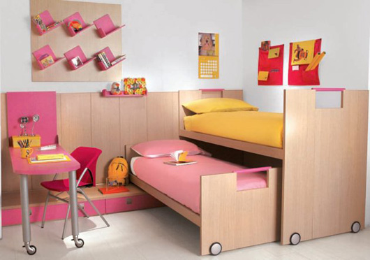 modern kids bedroom decorating interior ideas