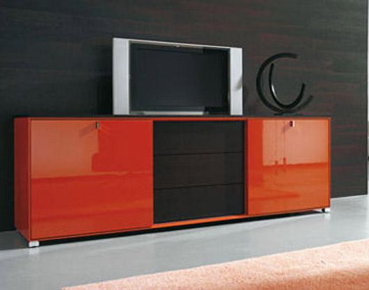 Luxury And Glamorous Design Furnishing Cubiko TV Wall Unit