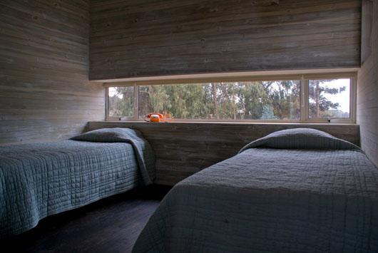 Elevated Platform Beach House Interior Bedroom