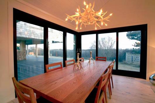 family beach house dining room ideas