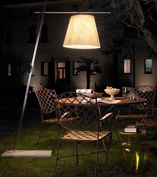 Outdoor Floor Lamp Shade Home Exterior Lighting