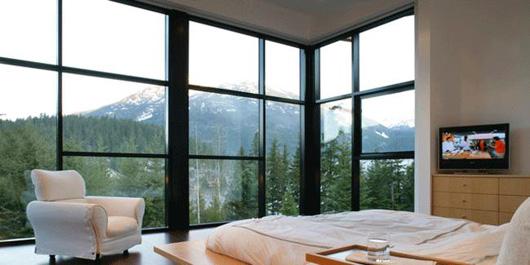 contemporary home interior bedroom design
