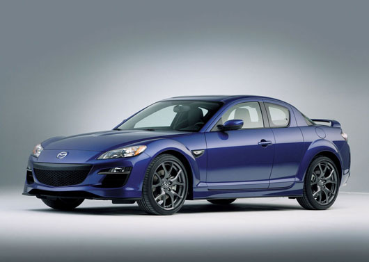 mazda rx 8 evolution - left side view