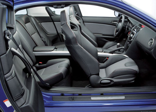 2003 Mazda RX-8 - car interior