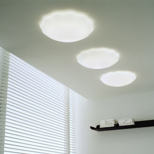 Glass Ceiling Lamp Modern Chandeliers Decorating