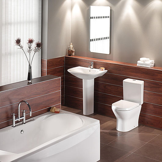 Interior Design Double Ended Bathroom Suite