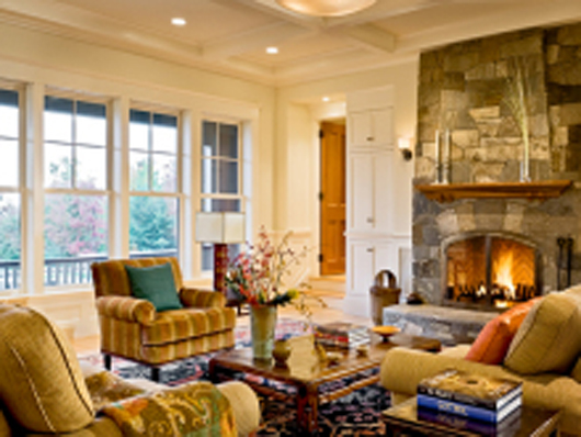 classic home design interior living room