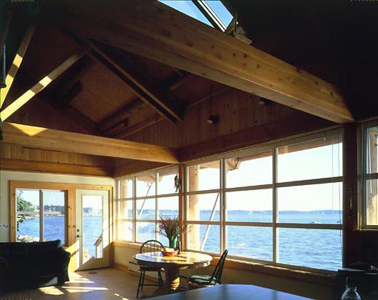 beach wooden minimalist home interior decorating