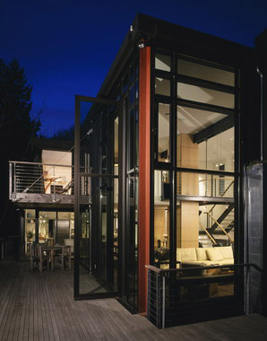 Luxury Residence Design Architecture Glass Home Decorating