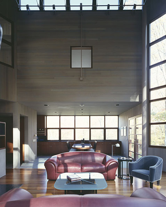 design wooden wall home living room