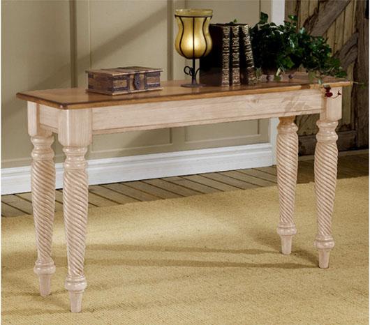 Prescott Sofa Table Design Wooden Living Room Furniture