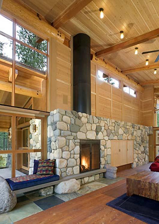 small cabin design cascade mountain house decorating