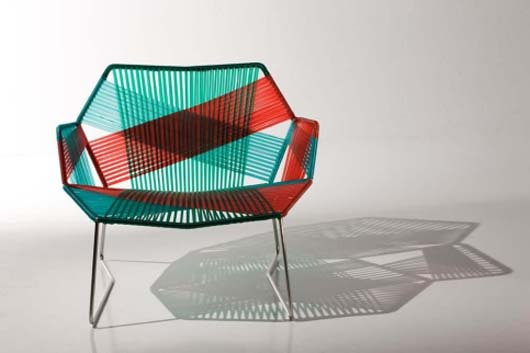 Modern Chair Design Furniture With Weaving Techniques