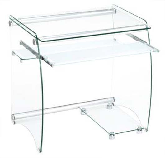 Modern Glass Computer Desk Design Contemporary Office Furniture