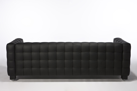 black sofa design home decorating ideas