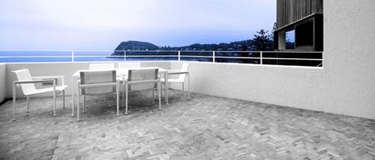 beach house design outdoor living space terrace