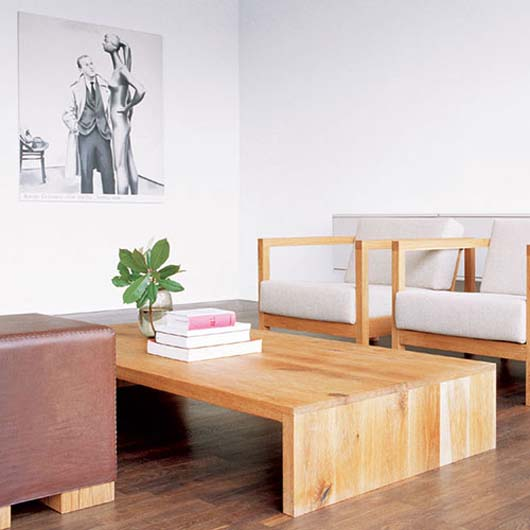 Simplicity Low Coffee Table Design Picture Wooden Living Room Furniture