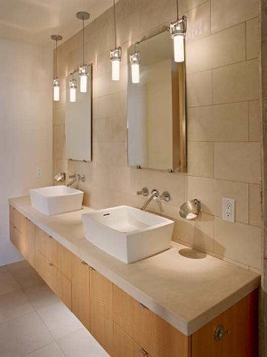modern apartmen decorating luxurious sink design