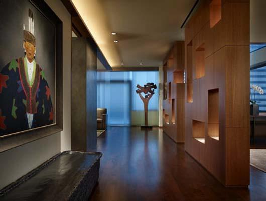 Suburban House Architecture Design Modern Interior Decorating Apartment
