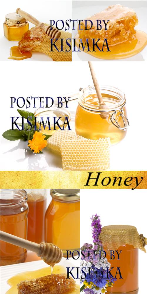 Stock Photo: Honey