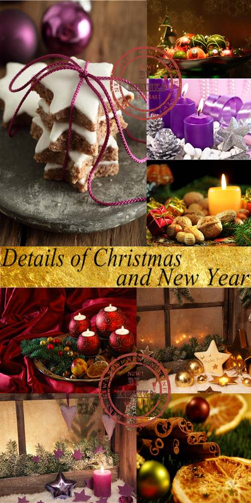 Stock Photo: Details of Christmas and New Year