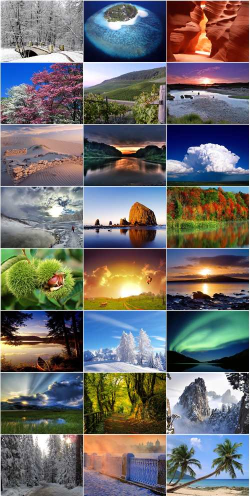 Nature wallpapers 2010