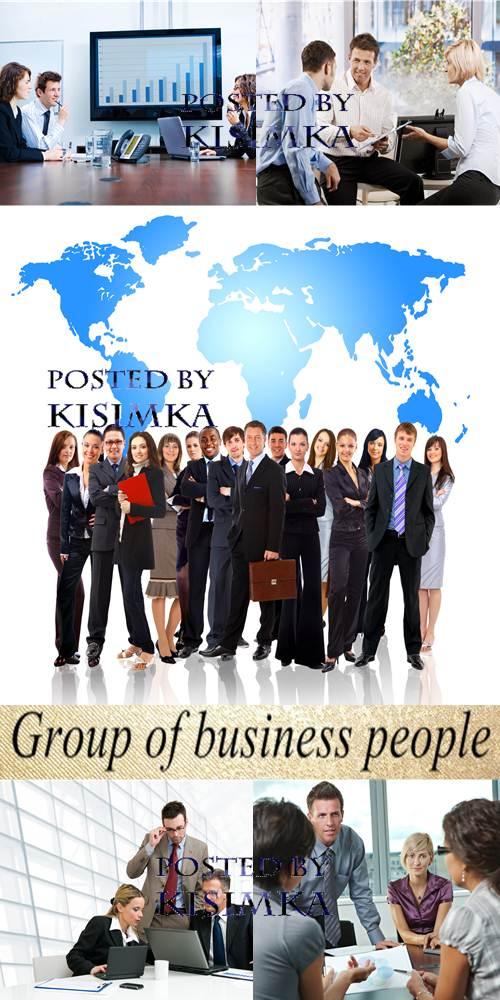 Stock Photo: Group of business people 5