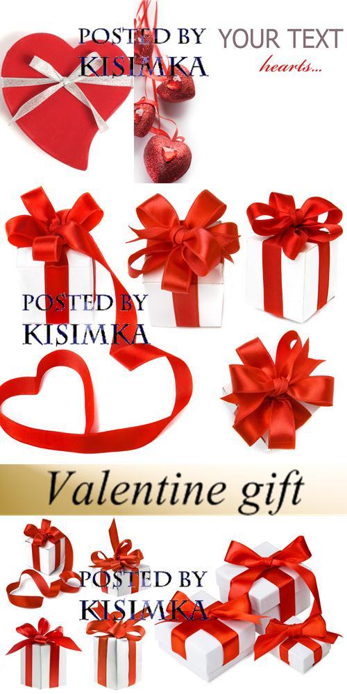 Stock Photo: Valentine gift
