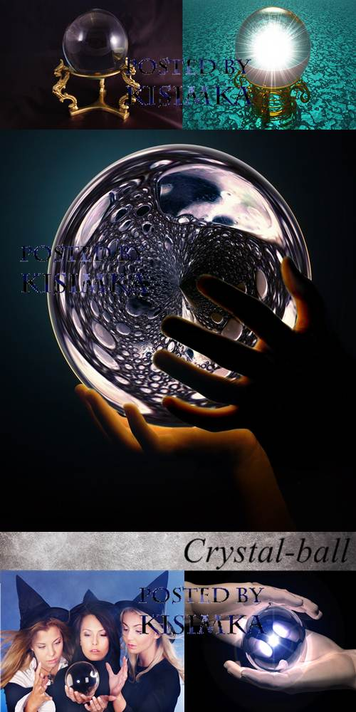 Stock Photo: Crystal-ball