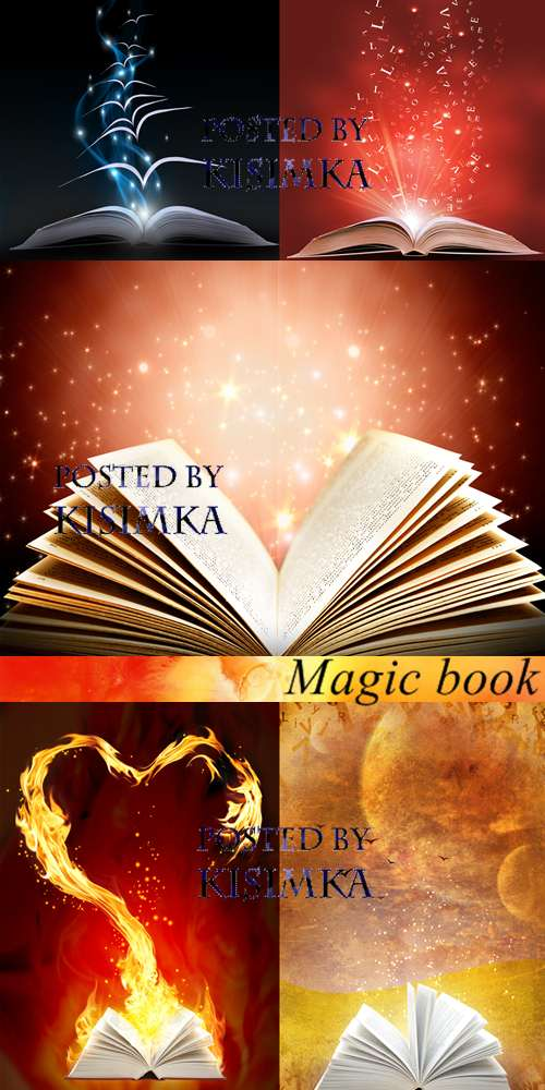 Stock Photo: Magic book