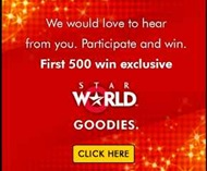 Indian freebies to win goodies bag from star worl