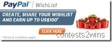 paypal wishlist