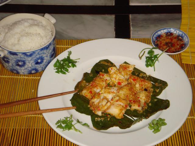 Z 39 lan vagabond recette vietnamienne du calamar grill avec citronelle et chili - Recette calamar grille barbecue ...