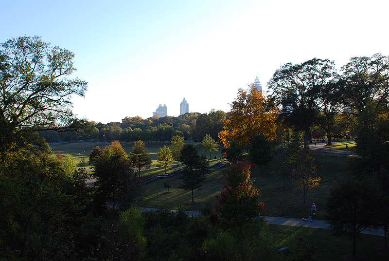 Пидмонт парк. Piedmont Park