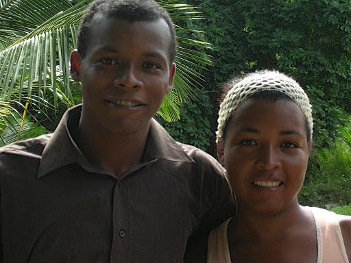 Hombre y mujer en Chirimena Miranda Venezuela