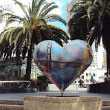Μία τεράστια καρδιά στην Union Square