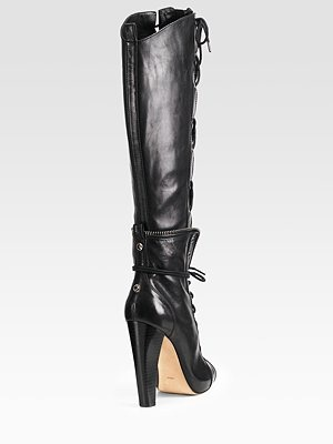 ALEXANDER WANG - Freja Lace-Up Boots - 886