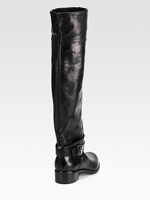 COSTUME NATIONAL - Flat Leather Boots - 792